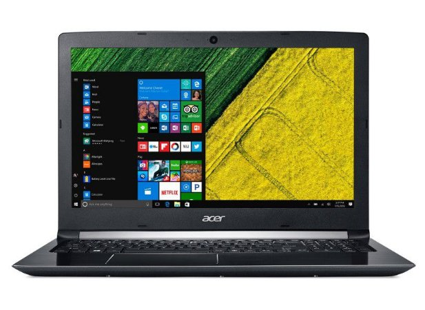 "Notebook seminovo, Acer Aspire 5 A515-51-51UX, i5-7200U, 2.50GHz, 8GB, HD 1TB, 15.6"", Win10, Bateria perfeita!"