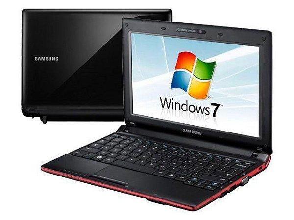 """Notebook usado, Samsung N150, Intel Atom, 1.66GHz, 2GB, HD160GB, 10.1"""", Windows 7!"""