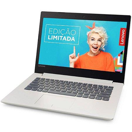 "Notebook usado, Lenovo Ideapad 320-14IKB, i5-7200U 2.5-2.71GHz, 4GB, HD500GB, 14"", Windows 10, Bateria perfeita!"