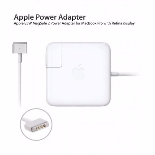 FONTE CARREGADOR APPLE MAGSAFE 2 PARA MACBOOK - 20V 4.25A 85W