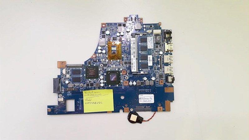 Placa mãe de Notebook Sony SVF14AC1QL com Vídeo Dedicado