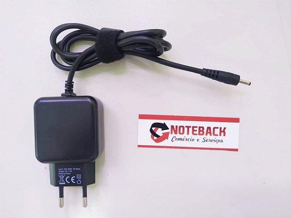 Fonte Carregador Notebook POSITIVO STILO ONE XC3634 XC3570 XC3550 5V x 3A 15W - PLUG 3.0mm x 1.1mm