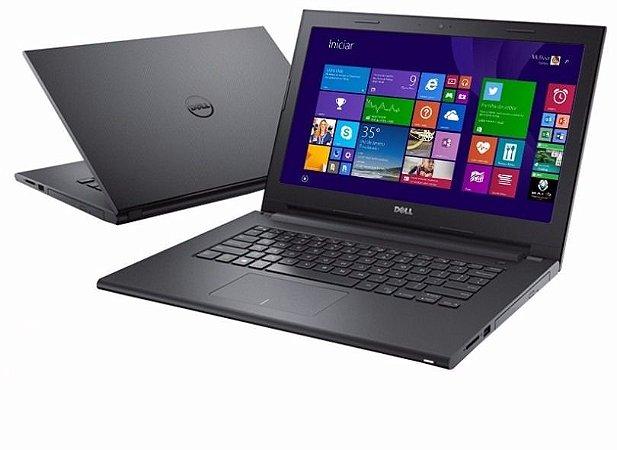Notebook Barato Dell Inspiron 14 3442 Core i3 HD 1Tb 4GB DVD-RW WIFI WIN 10 Seminovo usado