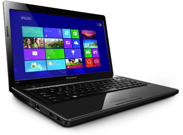 Notebook Lenovo G480 Intel Cel 1.8GHz 4GB-Ram HD320Gb WiFi Webcam HDMI USB 3.0 DVD-RW Win10 Usado