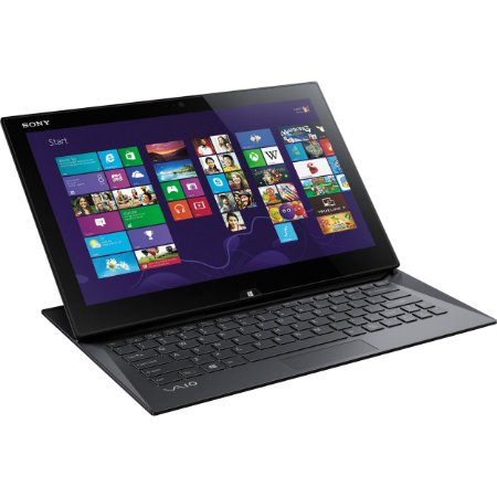"Notebook 2 em 1 Sony Vaio Touch i7 SSD256 8Gb 13"" Full Hd Win10 Perfeito"