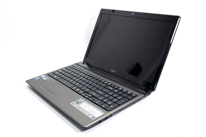 Notebook Acer Aspire 5750-6606 Core i3-2.10GHz 4Gb ram HD 640Gb DVD-RW Wi-fi Webcam HDMI Win 10Home