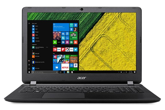 "Notebook Usado barato Acer Aspire ES15 Intel Celeron DualCore N3350, 4GB de ram, HD500Gb, Display de 15.6"", Teclado Alfa númerico, Webcam, Windows 10!"