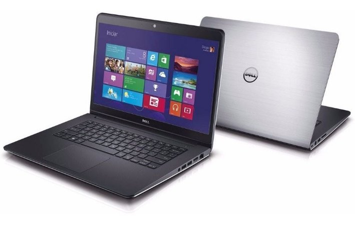 Notebook Gamer com tela Touch Dell Inspiron 5447 Core i7 2.0/2.6GHz, 2gb vídeo dedicado, 8Gb, HD 500gb, Wifi, Webcam, Hdmi, Win10, bateria perfeita