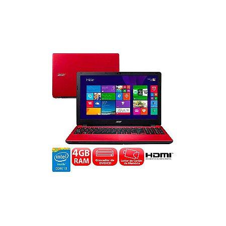 """Notebook usado barato Acer Aspire E5-571, Intel Core i3-5005u 2.0GHz, 4Gb, HD 1Tb, Display 15.6"""" LED, Leitor de CD/DVD, Bateria boa, Windows 10. Enviamos no mesmo dia!"""
