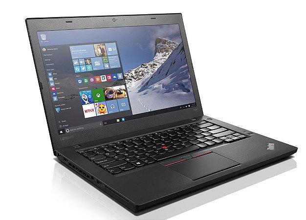 "Notebook usado Lenovo T460, Intel Core i5-6300U 2.40GHz, Tela 14"" LED, 8Gb, HD 500gb, Wifi, Webcam, Hdmi, Win10!"