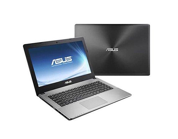 Notebook Usado ASUS X450L, CORE i5 2.30GHz, 2Gb vídeo dedicado NVidia, 8GB, HD1TB, Leitor de CD/DVD, Wifi, Webcam, Win10, bateria boa!