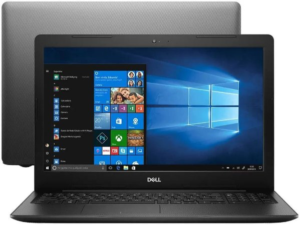 "Notebook Dell, Inspiron 15 3000, i15-3583-A5XP, 8ª Geração, Intel Core i7-8565U, 8 GB RAM, HD 2TB, Intel® UHD Graphics 620, Tela 15.6"" LED HD, Windows 10!"