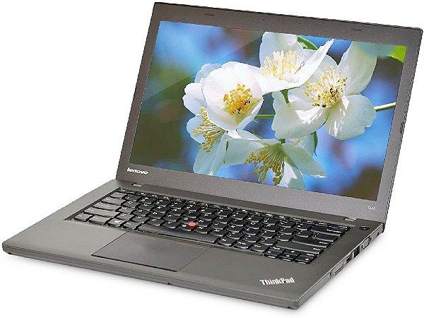 Notebook, Ultrabook Usado, Lenovo ThinkPad T440, Intel Core i5-4300U, 1.9GHz-2.49GHz, 8Gb ram, SSD 120Gb, Webcam, Bateria boa, Win 10 Pro