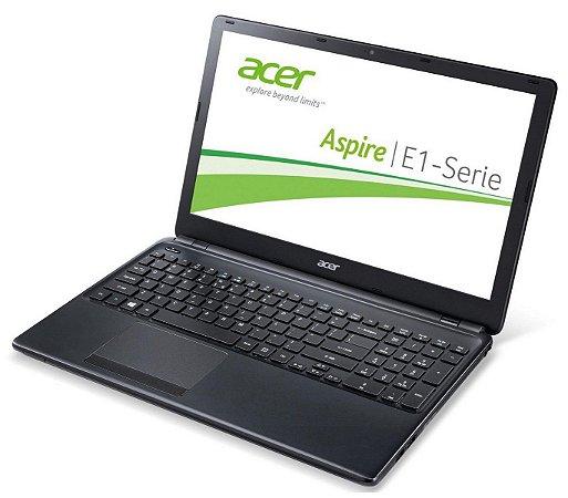 Notebook Usado Acer Aspire E1-572, Intel Core i3-4010U, 4GB, HD 500GB, WIN10, Bateira ok!