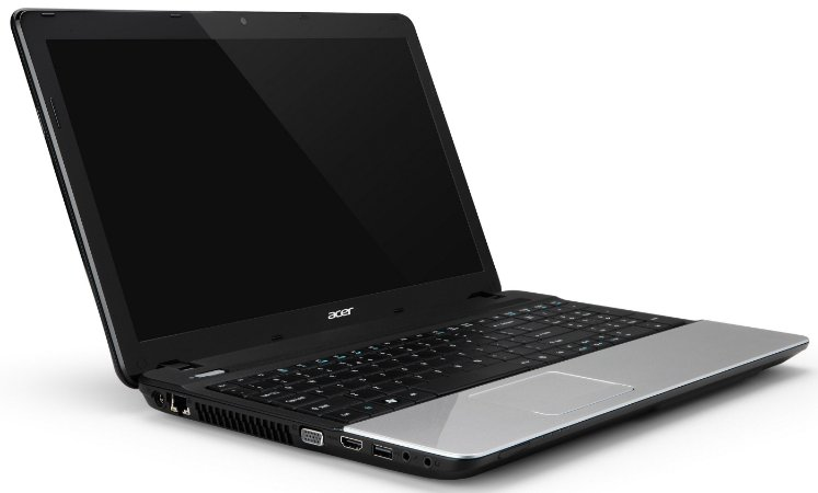 Notebook Acer E1-571, Core i5 2.6GHz-3.2GHz, 4Gb, HD500Gb, Leitor CD/DVD, WiFi, Webcam, HDMI, Win10.