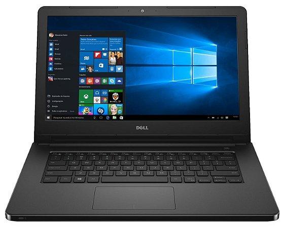 Notebook Usado Dell Inspiron 14 5458, i3-5005U 2.0GHz, 4GB, HD 1Tb, Webcam, Win 10, bateria ok!
