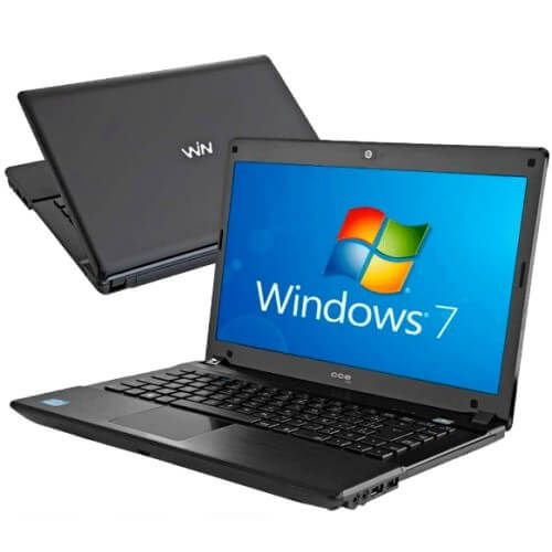 Notebook Usado, CCE, Core i5-2.30GHz, 4Gb, HD500Gb, Leitor CD/DVD, Webcam, Win10, Bateria ok!