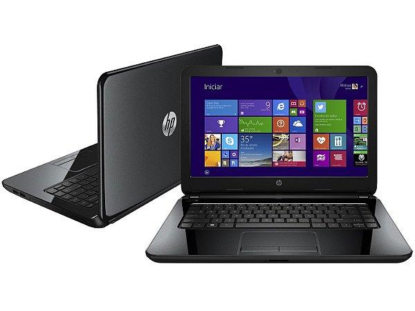 Notebook Usado, HP 14-R052BR, Core i5-4210U 1.7-2.4GHz, 4GB, HD 1TB, Leitor CD/DVD, Bateria ok, Win10!