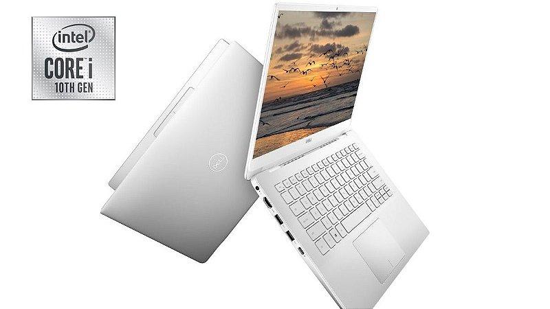 """Notebook Seminovo, estado de novo, Dell Inspiron 14-5490, i5-10210, 10Geração de 1.60-2.11GHz, 8GB, SSD256GB, Win10, Display 14"""" Full HD."""