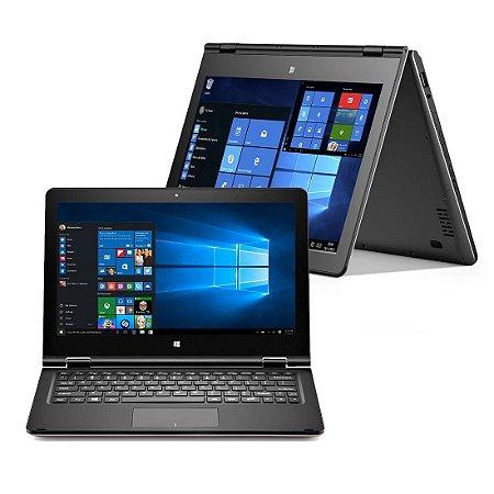 Notebook 2 em 1 Multilaser, m11w, Touch, Atom x5-z8350 1.44GHz, 2Gb, 32GB SSD, Win10, Bateria perfeita!