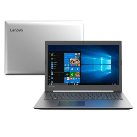 Notebook Lenovo, ideapad 330-15IKBR, i3-7020U - 2.30GHz, 4GB, HD1TB, Webcam, Bateria perfeita, Win10!