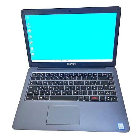 Notebook usado, Positivo I341TA, Intel Core i3-8130U 2.20GHz, 4Gb, HD1TB, Wi-Fi, Webcam, Win10, Bateria boa!