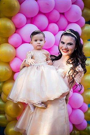 Vestidos Tal Mãe Tal Filha 1 Ano Festa Aniverssario