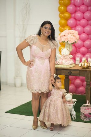 62aa7cfb66e488 Vestidos, tal mãe tal filha, 1 ano, festa, aniverssario - Florzinha ...