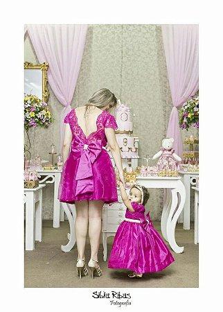 3c42a3697245fa Vestidos, tal mãe tal filha, 1 ano, festa, aniversário,infantil ...