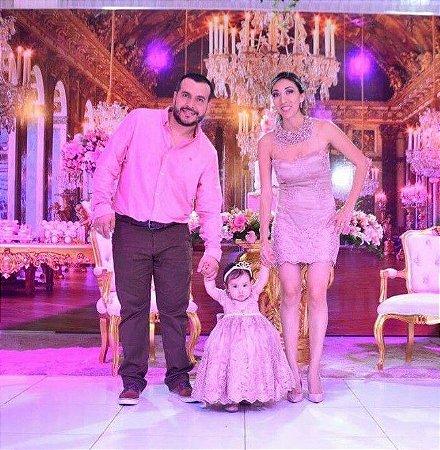 Vestidos Tal Mãe Tal Filha Florzinha Kids Vestindo