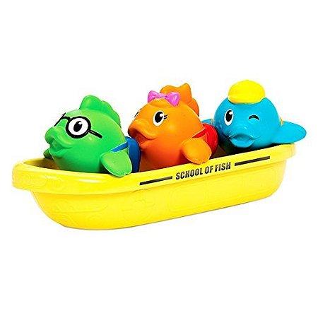Kit Brinquedo Para Banho Munchkin School Of Fish