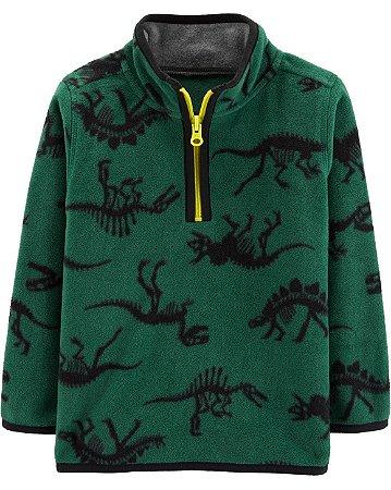 Cardigan carters - Fleece Pullover Dinosaur