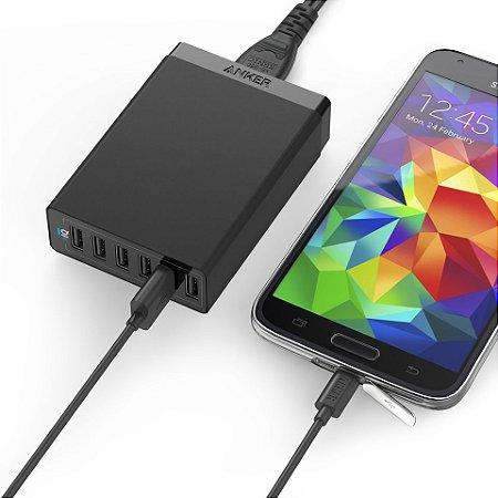 PowerPort USB Anker 6 Portas
