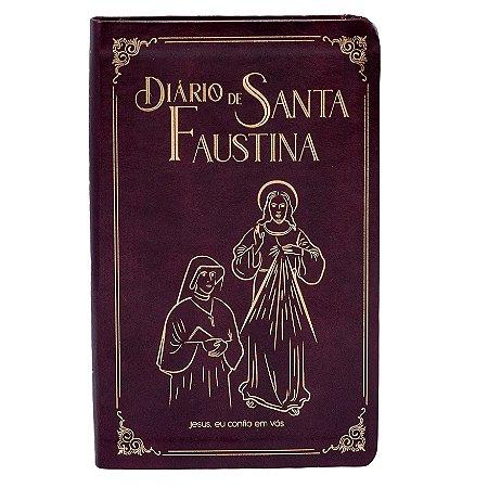 Diário De Santa Faustina - Capa Em Couro - Versão Bolso