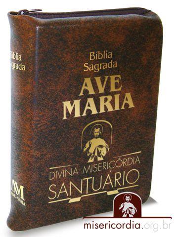 BÍBLIA AVE-MARIA - SANTUÁRIO DA DIVINA MISERICÓRDIA