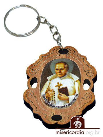 CHAVEIRO TRABALHADO SANTO ESTANISLAU DE JESUS E MARIA