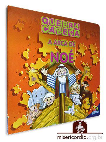 LIVRO QUEBRA-CABEÇA - A ARCA DE NOÉ