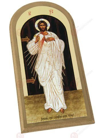 QUADRO ÍCONE DE JESUS MISERICORDIOSO