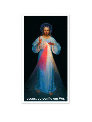PÔSTER JESUS MISERICORDIOSO - PRIMEIRA IMAGEM