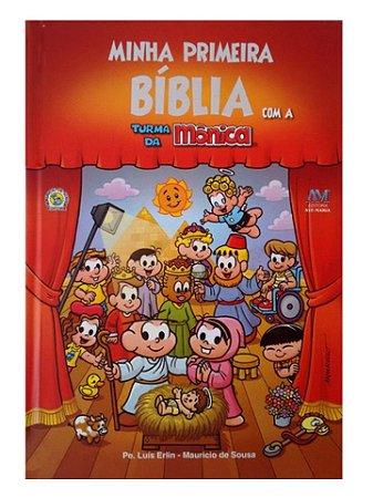 MINHA PRIMEIRA BÍBLIA COM A TURMA DA MÔNICA PEQUENA
