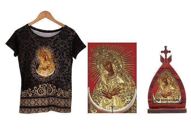 Camiseta Mãe de Misericórdia,  Pôster Mãe de Misericórdia, Capela Mini Mãe de Misericórdia