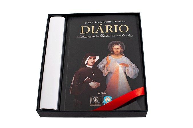 BOX AMOR E MISERICÓRDIA: Diário de Santa Faustina (CAPA DURA) e mais quatro ítens
