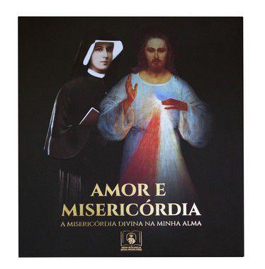 PROMO - BOX AMOR E MISERICÓRDIA: Diário de Santa Faustina e mais quatro ítens (Capa Flexível)