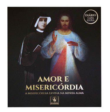 PROMO - BOX AMOR E MISERICÓRDIA: Diário de Santa Faustina (CAPA DURA) e mais quatro ítens