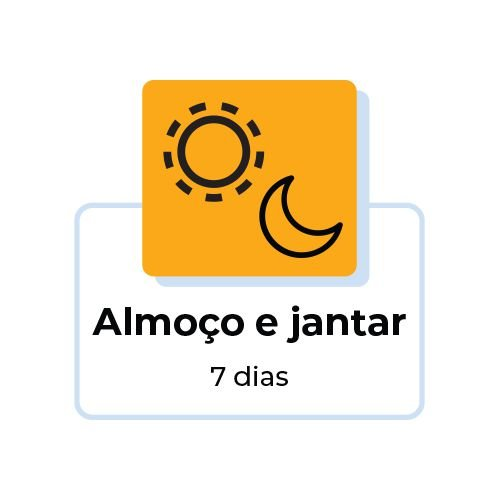 PROMO FIT 7 DIAS - ALMOÇO E JANTAR - 14 Refeições