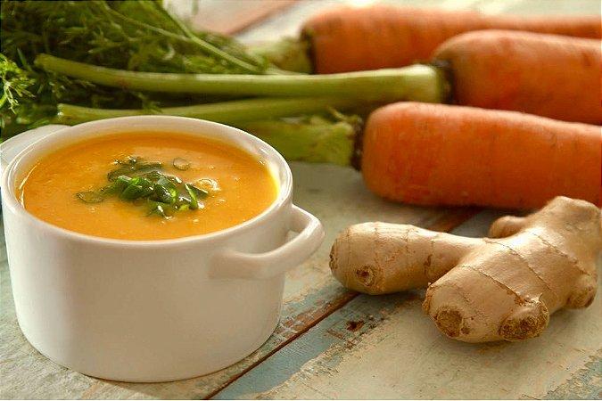 Sopa detox de cenoura com gengibre - 400g