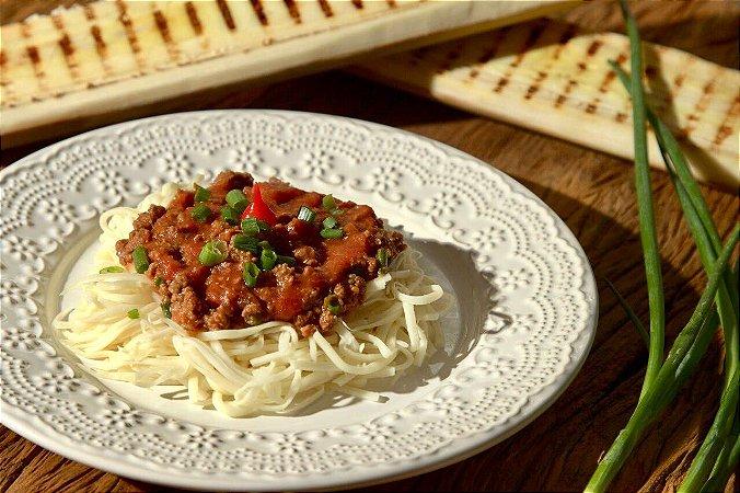 menu - 48 Spaghetti de Palmito pupunha com patinho moído - 300g