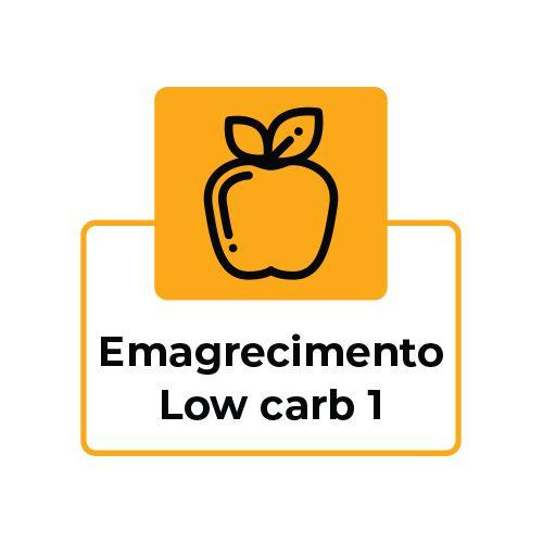 EMAGRECIMENTO LOW CARB 1 - ALMOÇO OU JANTAR - 7 Refeições