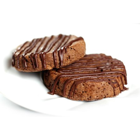 COOKIE FIT COM CACAU E CHOCOLATE BELGA 40G - SEM Açúcar, SEM Glúten.