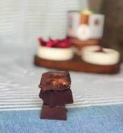 BOMBOM FIT DE CHOCOLATE VEGANO COM NUTELLA – 200G (LATA COM 10 UNIDADES) SEM Açúcar, SEM Glúten e SEM Lactose